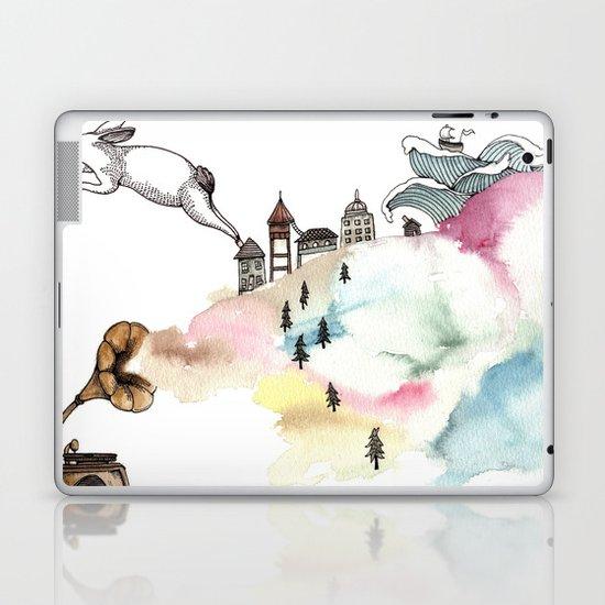 Rabbit Cloud Laptop & iPad Skin