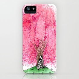 The Willow Tree of Kyoto iPhone Case