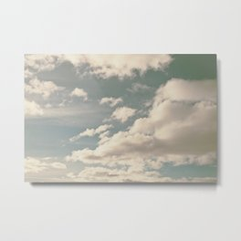 Clouds in the sky #2 Metal Print
