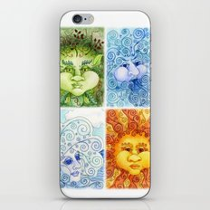 The Four Elements iPhone & iPod Skin