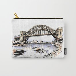 Hell Gate Bridge Carry-All Pouch