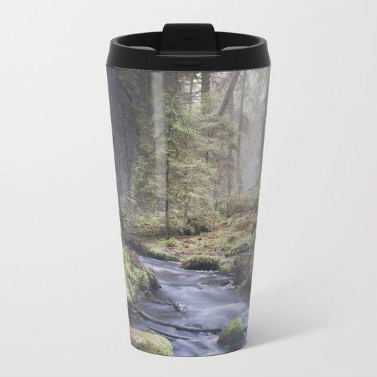 Silent whispers Metal Travel Mug