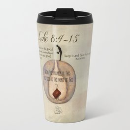 Parable of the Shower Luke 8:4-15 Travel Mug