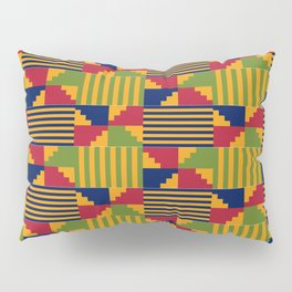 African Kente Pattern 9 Pillow Sham