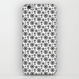 Black Snow iPhone Skin