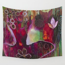 """""""Surrender"""" Original Painting by Flora Bowley Wall Tapestry"""
