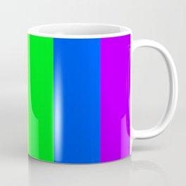 Rainbow flag - Vertical Stripes version Coffee Mug