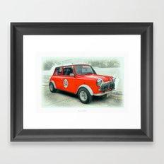 Red Mini #84 Framed Art Print