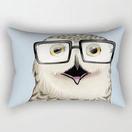 Owl Geek Chic Rectangular Pillow