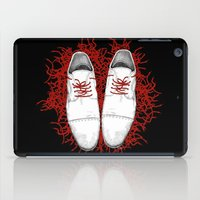shoes iPad Cases featuring Shoes by Tamar Kasparian