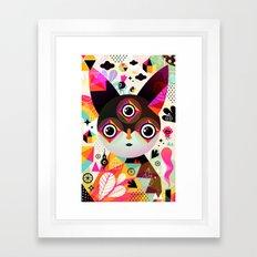Melek Framed Art Print
