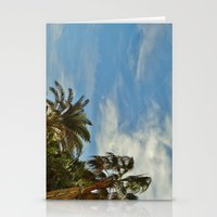 palms Stationery Cards featuring Palms by Magic Emilia