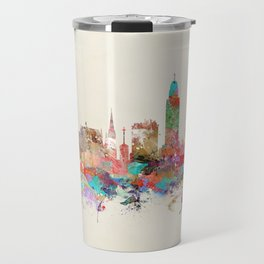 Lincoln nebraska Travel Mug