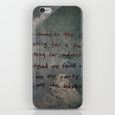 Burn iPhone & iPod Skin