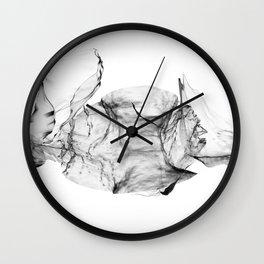 Clean Flow Wall Clock