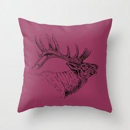 Bugle Throw Pillow