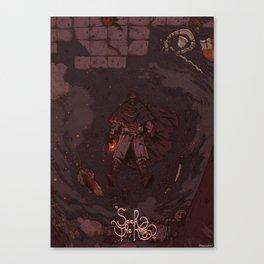 DARK SOULS II / SEEK THE KING \ Canvas Print