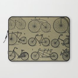 Antique Bicycles Laptop Sleeve