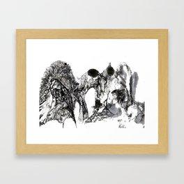 three gorges Framed Art Print