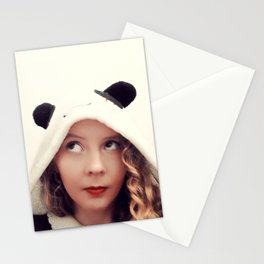 Panda Onesie Nomi Stationery Cards