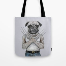 dog drawing Tote Bag