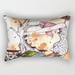 No longer in your World Rectangular Pillow