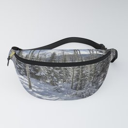Winter forest - Carol Highsmith Fanny Pack