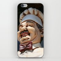 chef iPhone & iPod Skins featuring CHEF by Andrea Jean Clausen - andreajeanco