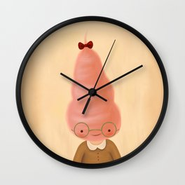 Mandy Cotton Candy Wall Clock