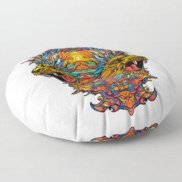 Two Kings Floor Pillow