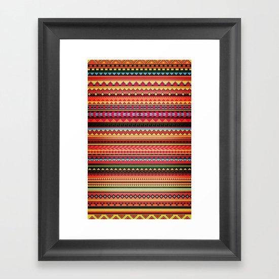 Bulgarian Rhapsody Pattern Framed Art Print