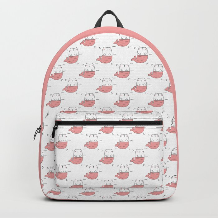MerKitty Pink Backpack