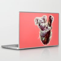 koala Laptop & iPad Skins featuring Koala by beart24