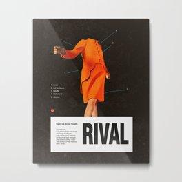 Self Rival Metal Print