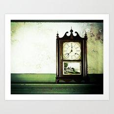 12:37 Plantation Time Art Print