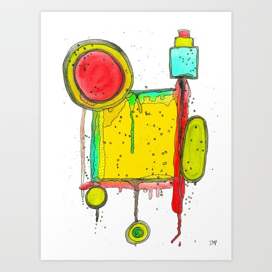 Funkylicious One Art Print