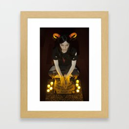 It's Up to the Spirits Framed Art Print