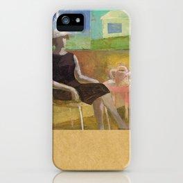 Woman in her Garden iPhone Case