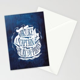 like a pirate Stationery Cards