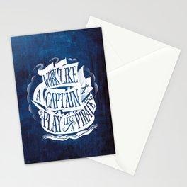 like a pirate Stationery Cards