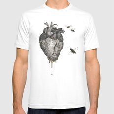 Sweet.Heart Mens Fitted Tee MEDIUM White