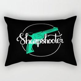 The Sharpshooter Rectangular Pillow