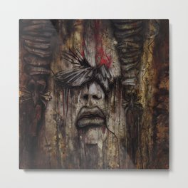 The Seer Metal Print