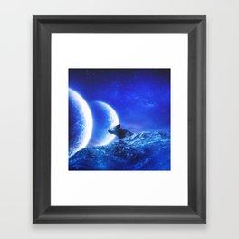 CELESTIAL ATMOSPHERE #3 Framed Art Print