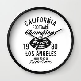 california football champions Wall Clock