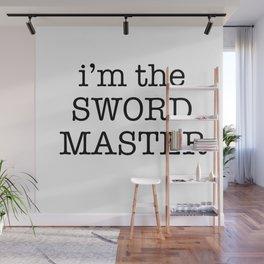 sword master Wall Mural