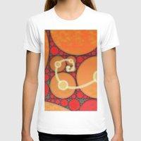fibonacci T-shirts featuring Fibonacci Spiral Fractal by Conceptualized