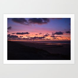 Romantic Sunset Art Print