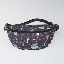 Magical Miscellanea Pattern Fanny Pack