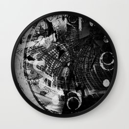 Chrono Stepper Wall Clock